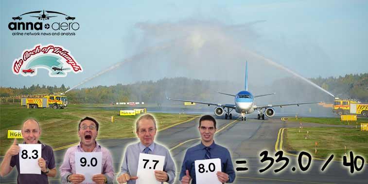 Estonian Air Tallinn to Stockholm Bromma
