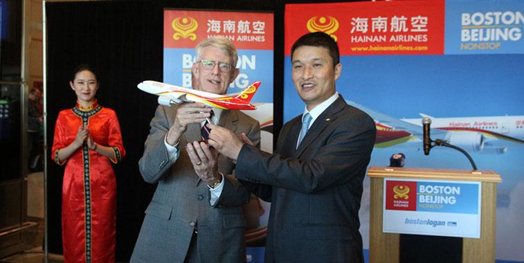 Hainan Airlines, Increasing seat capacity between China and the U