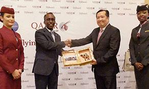 Qatar Airways begins operations to destination #145 - Djibouti