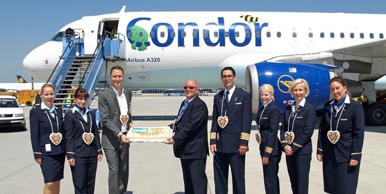 Condor Munich to Kalamata