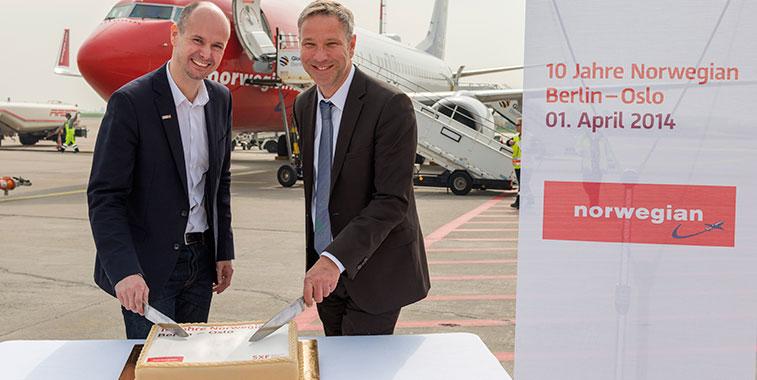 Norwegian is expanding rapidly in Germany