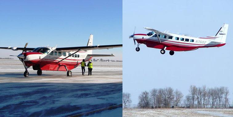 Air Choice One Chicago O'Hare to Mason City in Iowa