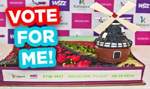 Reykjavik/Keflavik wins Cake of the Week W14/15 Part I; Vote for the best cake – Part II