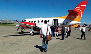 Sunrise Airways starts Santiago service