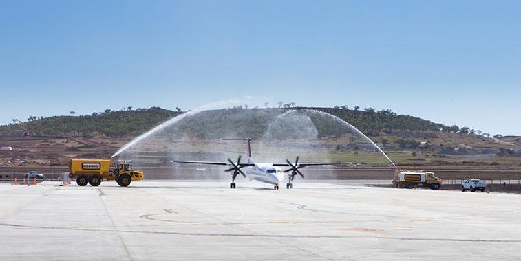 Qantas Brisbane West Wellcamp to Sydney