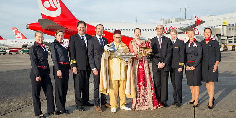 airberlin commenced twice-weekly flights from Düsseldorf to Marrakech