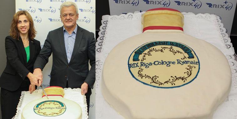 Cake 10 – Ryanair Cologne Bonn to Riga
