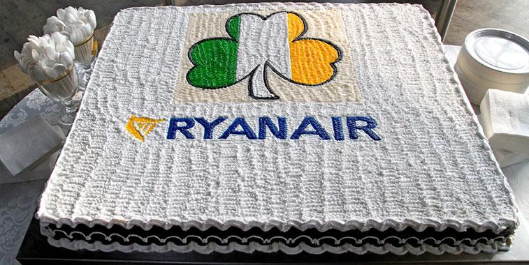 Cake 11 – Ryanair Kaunas to Shannon