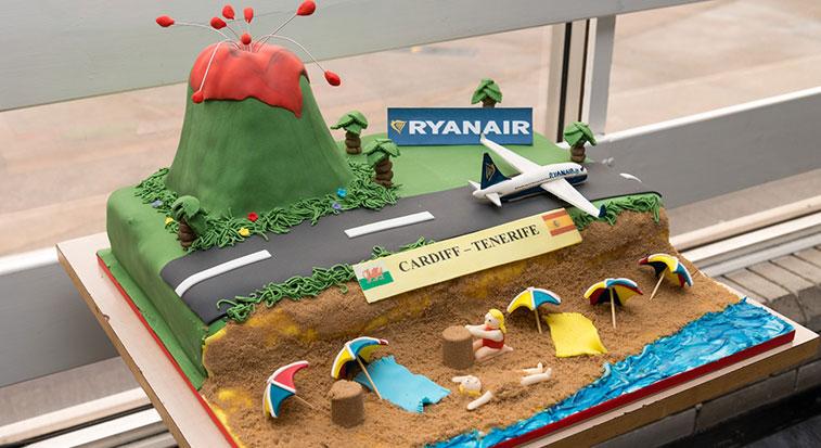 Cake 13 – Ryanair Tenerife South to Cardiff