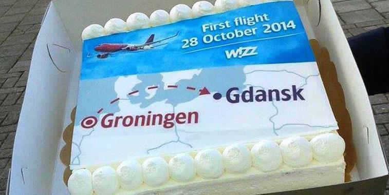 Cake 15 – Wizz Air Gdansk to Groningen