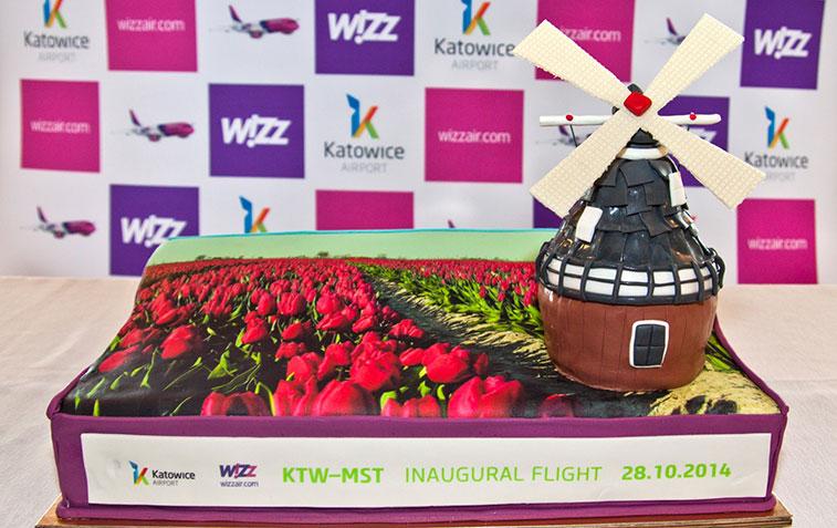 Cake 16 – Wizz Air Katowice to Maastricht Aachen