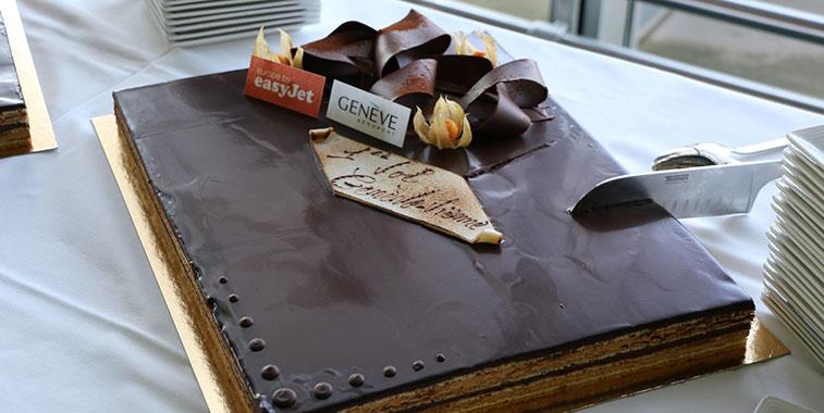 Cake 3 – easyJet Geneva to Vienna
