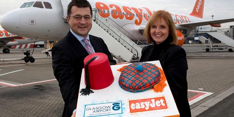 Cake 4 – easyJet Glasgow to Marrakech