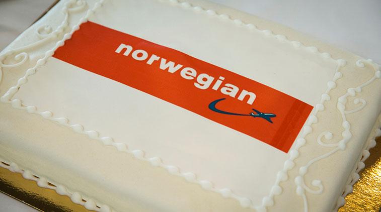 Cake 8 – Norwegian Copenhagen to Bangkok Suvarnabhumi