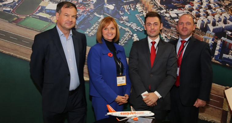 easyjet, Bristol to Gibraltar