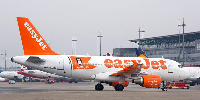 easyJet Hamburg a base