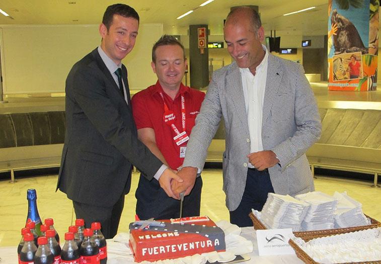 Jet2.com began a weekly, seasonal service between Newcastle and Fuerteventura