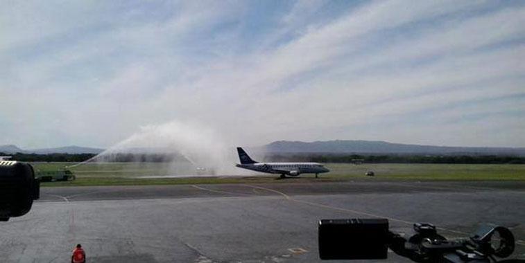 Aeromexico Mexico City to Managua 10 December