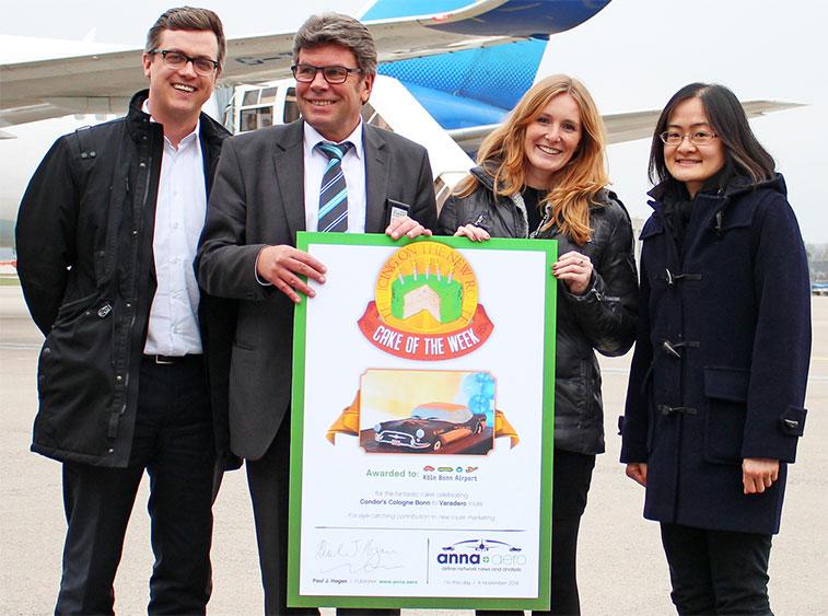 Condor Cake of the Week award