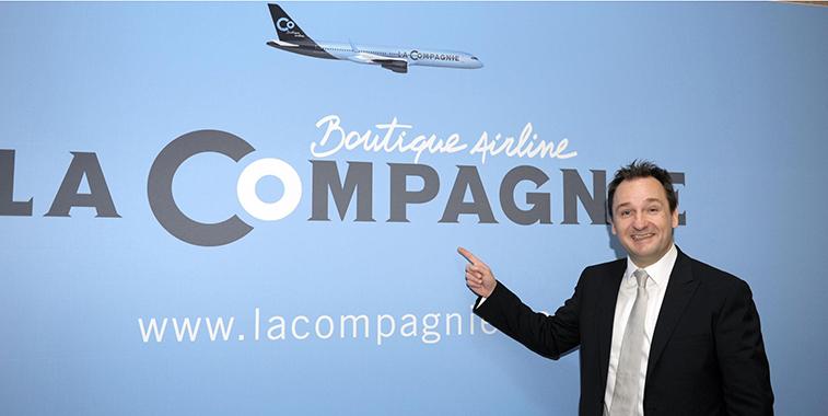 La Compagnie CEO and founder Frantz Yvelin