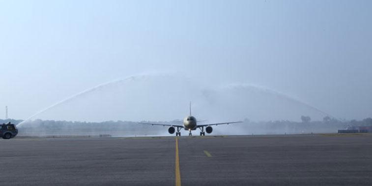 Gulf Air Bahrain to Hyderabad 15 December