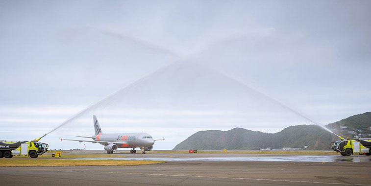 Jetstar Airways Gold Coast to Wellington 12 December