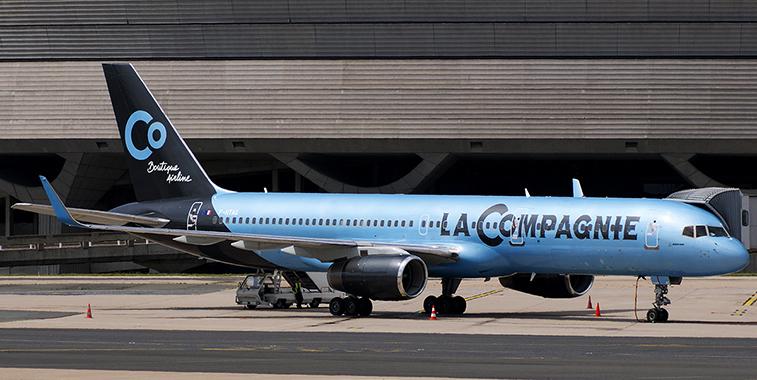 La Compagnie's initial 757