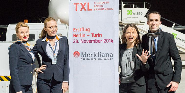 Meridiana Berlin to Turin