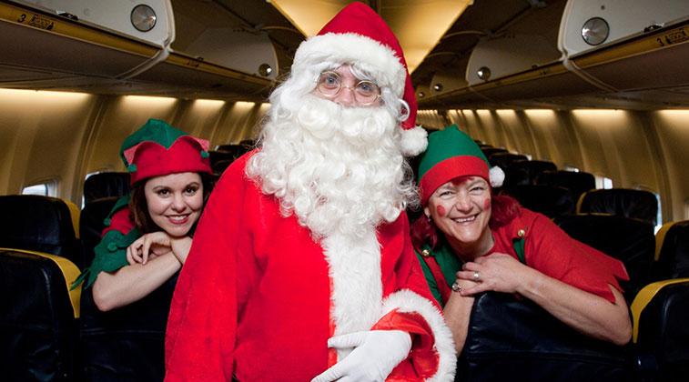 Shannon Airport Ryanair Santa