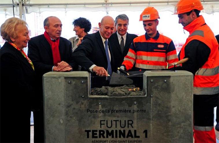Lyon Airport future Terminal 1