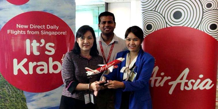 AirAsia Krabi to Singapore