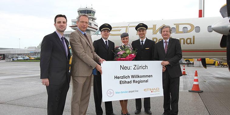 Etihad Regional - Zurich
