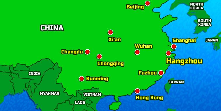 international airports in china map Hangzhou Airport Passes 25m Passenger Mark international airports in china map