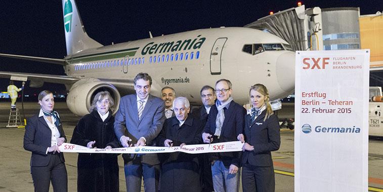 Germania  - Berlin to Tehran