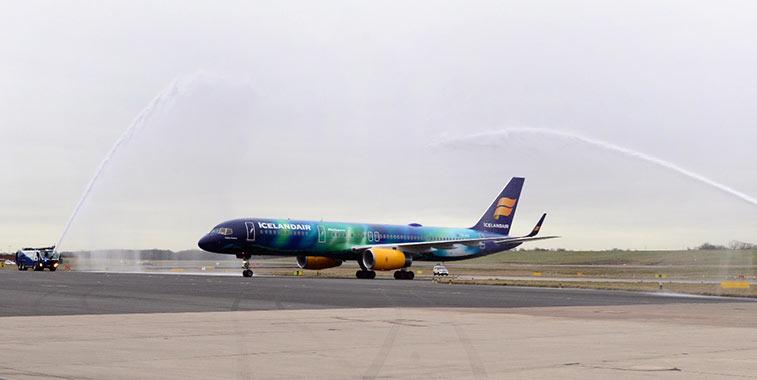 Icelandair Reykjavik/Keflavik to Birmingham