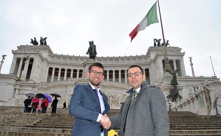 anna.aero's Ross Falconer met Raffaele Pasquini, Head of Airport Marketing Development, Aeroporti di Roma