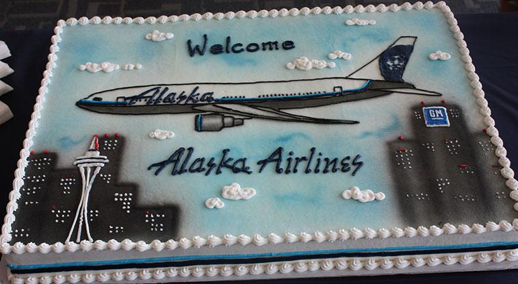 Alaska Airlines Detroit