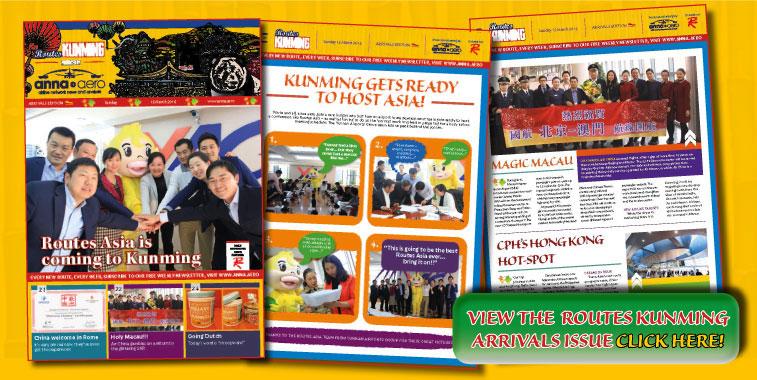 Kunming arrivals mag