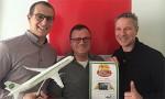 Berlin Schönefeld receives Cake of the Week award for Germania