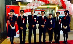 Japan Airlines resumes flights between Osaka and Los Angeles