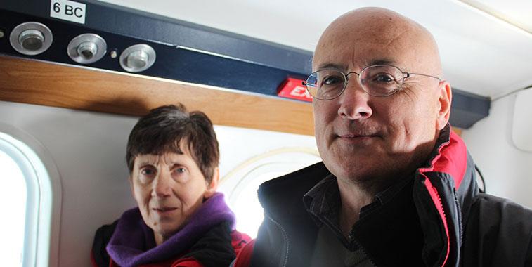 Barra passengers