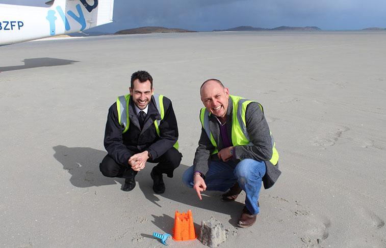Barra sandcastle runway