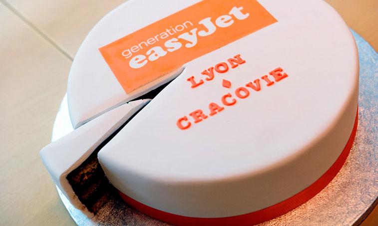 easyjet cake