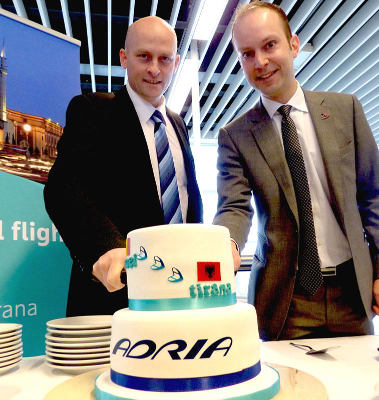 Adria Airways Tirana to Brussels