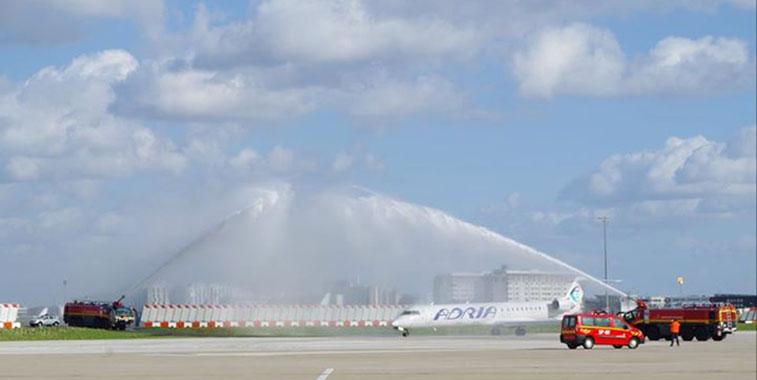 Adria Airways Tirana to Paris CDG