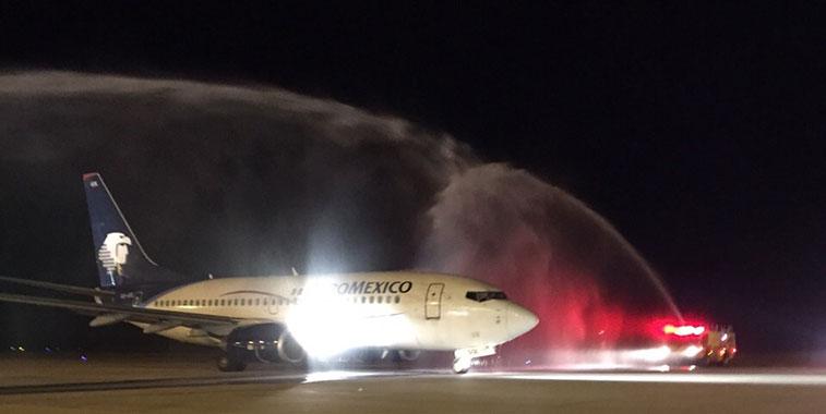 Aeromexico Mexico City to Sacremento