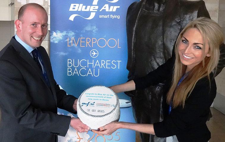 Blue Air Bacau to Liverpool