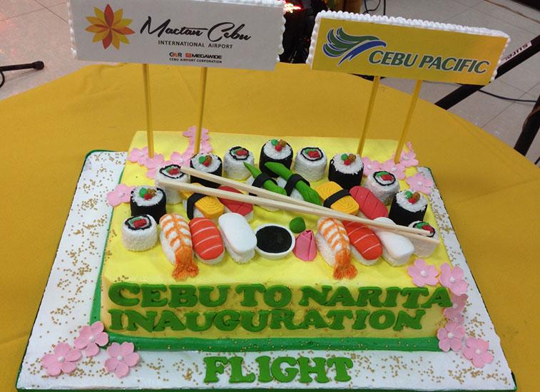 Cebu Pacific Air Cebu to Tokyo Narita