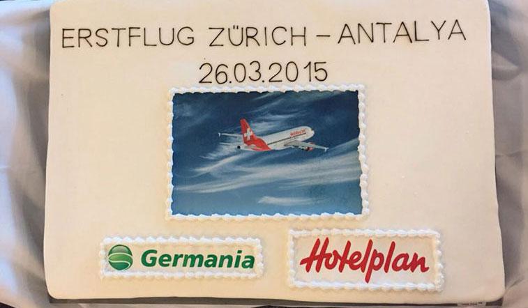 HolidayJet (Germania) Zurich to Antalya