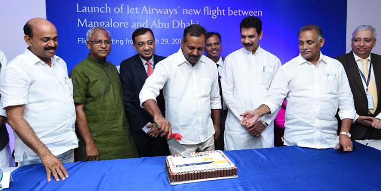 Jet Airways Mangalore to Abu Dhabi